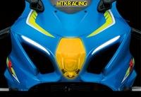 MTKRACING FOR Suzuki GSX R1000 GSX R 1000 GSXR 1000 GSX 1000R 2017 2018 motorcycle Headlight Protector Cover Shield Screen Lens