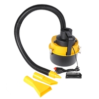 Free delivery 12V Portable Handheld Car Vacuum Cleaner Auto Wet Dry Dual Use Vacuum Cleaner