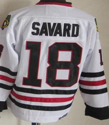 authentic free shipping retail chicago hockey jerseys retro throwback 18  denis savard jersey df697 4539a 3243243e3