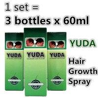 YUDA Hair Growth Spray BEST Hair Regrowth Product Herbal Medicine For Hair Growing 60ml X 3