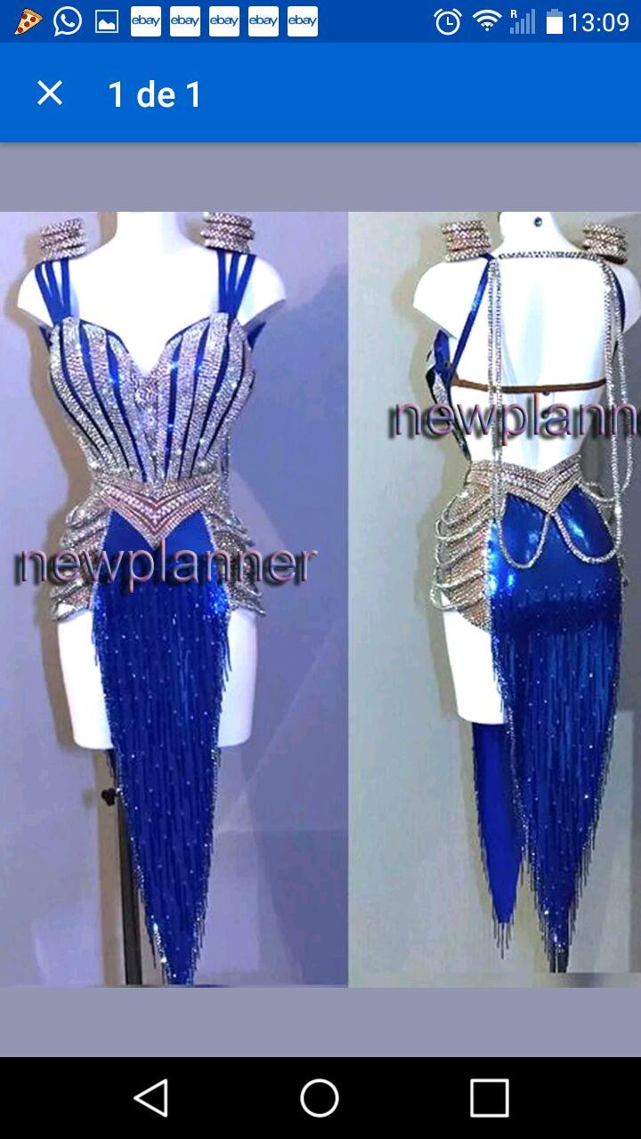 Professional Custom White Tassel  Latin Dance Dress Latin Dance Dress Girl Or Lady Hot Latin Dancing Dress Competition