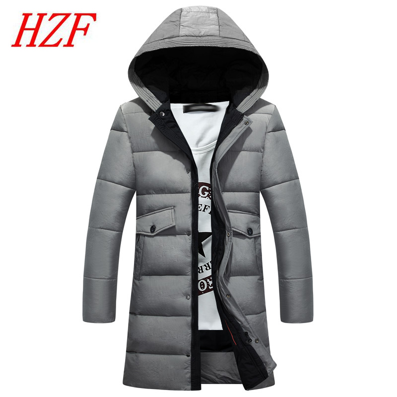 2017 New Winter Clothing Jackets Business Long Thick Winter Coat Men Solid Parka Fashion Overcoat Hooded Outerwear warm zeeshant new clothing jackets business long thick winter coat men solid parka fashion overcoat outerwear in men s parkas xxxl