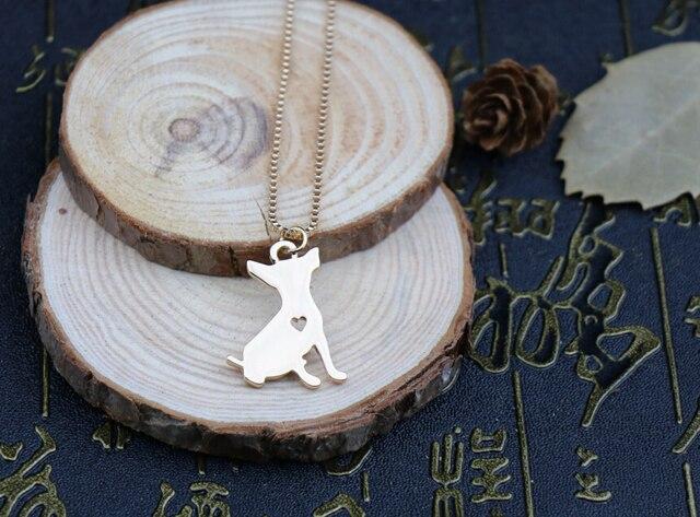 Купить новейшее летнее модное милое ожерелье чихуахуа металлическая картинки