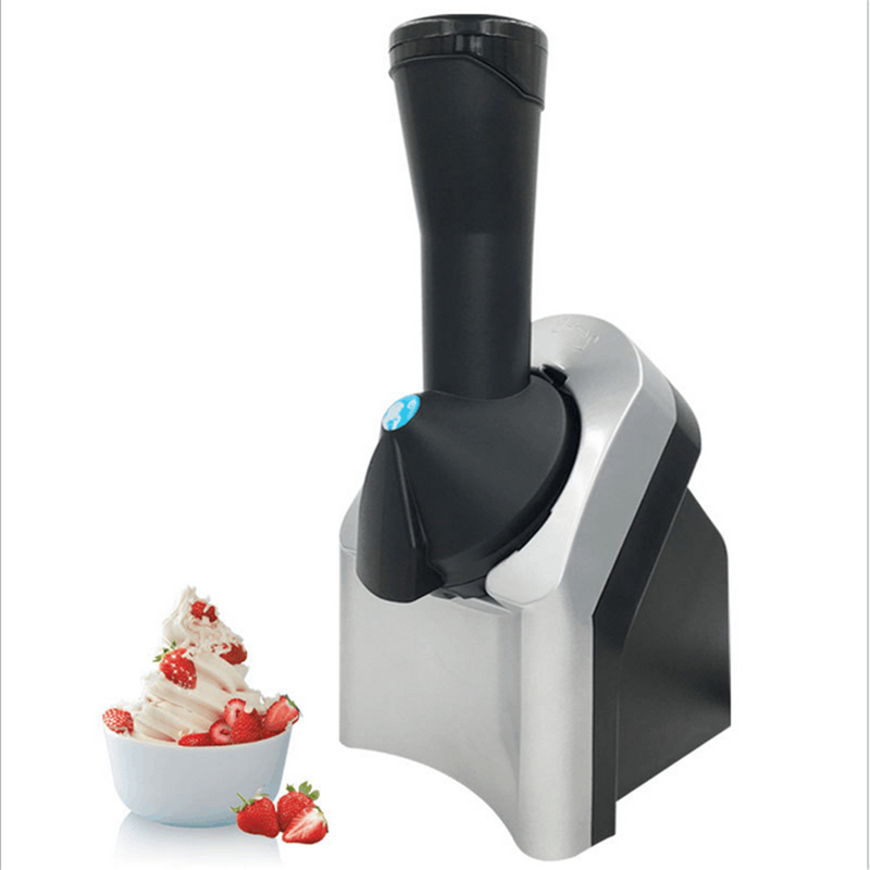 220V Homemade Automatic Fruit Ice Cream Machine Mini DIY Ice Cream Maker For Children Gift edtid ice cream machine household automatic children fruit ice cream ice cream machine barrel cone machine