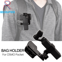 For DJI OSMO Pocket Handheld Expansion kit Accessories Bracket mount backpack bag Clip for DJI OSMO Pocket Gimbal Camera Holder car suction cup holder mount for dji osmo pocket car glass sucker holder driving recorder tripods dji osmo pocket accessories