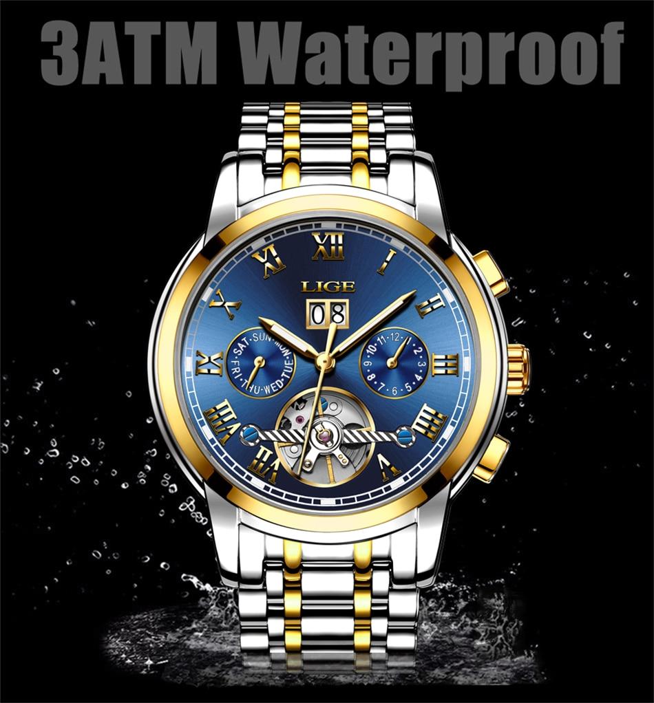 HTB1AKSXVSzqK1RjSZFpq6ykSXXas Mens Watches Top Brand LIGE Fashion Luxury Business Automatic Mechanical Men Military Steel Waterproof Clock Relogio Masculino