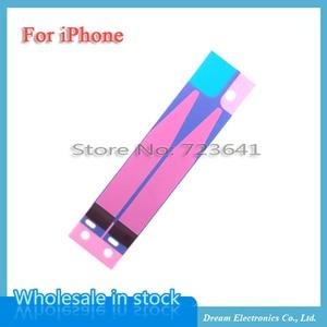 Image 1 - 100 개/몫 배터리 스티커 접착제 아이폰 6 6 s 7 8 플러스 x xr xs 11 프로 최대 5 s 5c 접착제 3 m 테이프 스트립 탭 교체 부품