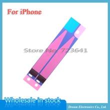 100 ピース/ロットバッテリーステッカー接着剤の Iphone 6 6S 7 8 プラス X XR XS 11 プロマックス 5S 5C のり 3 メートルテープストリップタブの交換部品