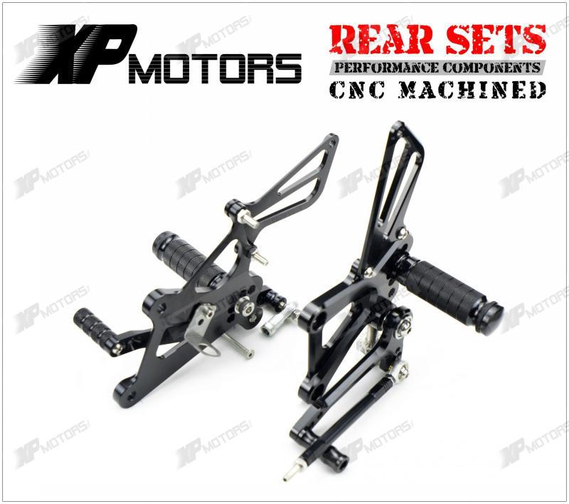 High Quality  Black Adjustable Foot Pegs Rear Sets For Honda CBR250R MC41 2011 2012 2013 2014 morais r the hundred foot journey