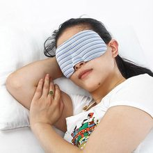 Outdoor Travel แบบพกพา Sleeping Aid Soft Breathable 3D Eye Mask Blindfold Blindfold Eye Mask Hot sellilng(China)