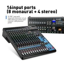 G-MARK MG16 16 каналов микшерный пульт Bluetooth USB зарядки аудио миксер DJ HD плеер независимых