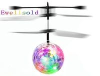 Consiglia Induzione Volare Flash Sfera Giocattoli Telecomando RC Helicopter Flying Quadcopter Drone Bambini Giocattolo Fata Bambola Migliori Regali