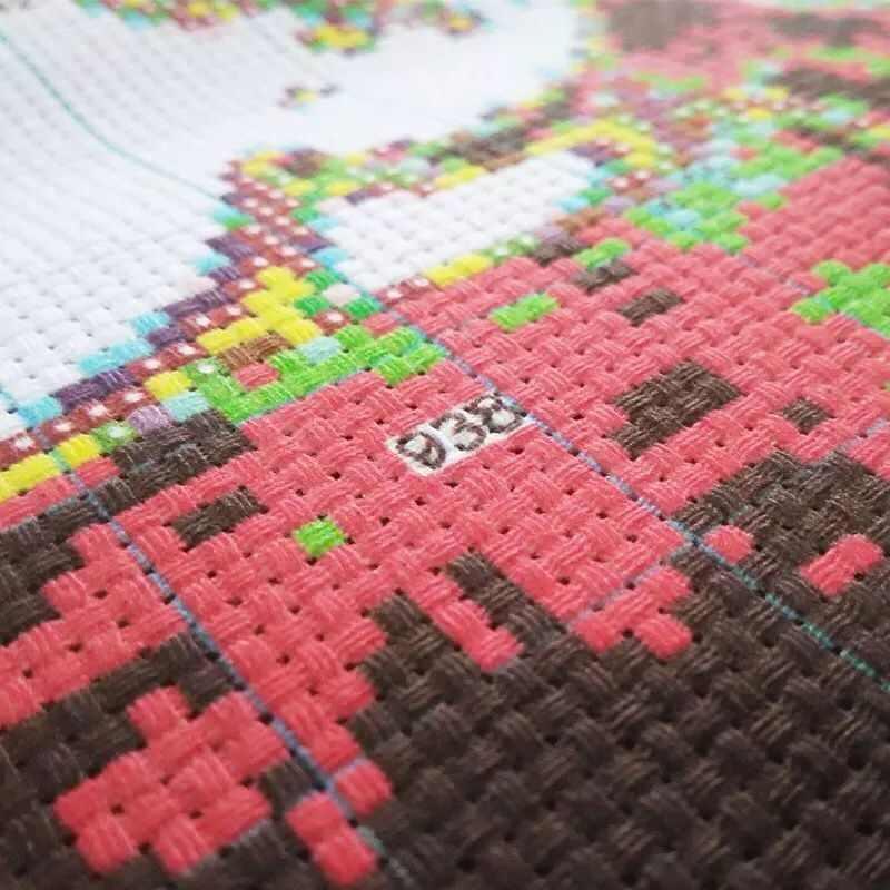 "Top Qualtiy FISHXX ""Beach walk Girl""Printed Cross Stitch Embroidery Kits 14CT Cartoon Cotton Thread Painting DIY Needlework DMC"
