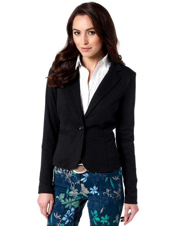 Autumn Women Blazers And Jackets Candy Color Jacket Long Sleeve Slim Suit One Button Wom ...