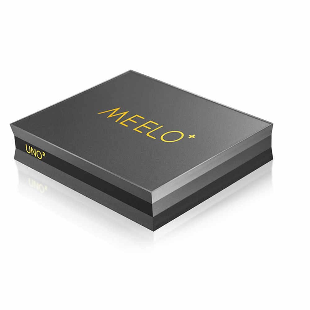 MEELO UNO2 DVB-T2 DVB-S2 Android 5 1 TV Box 2GB/16GB Amlogic S905 Quad-core  H 265 4K 2 4G&5G Wifi MEELO UNO Smart Media Player