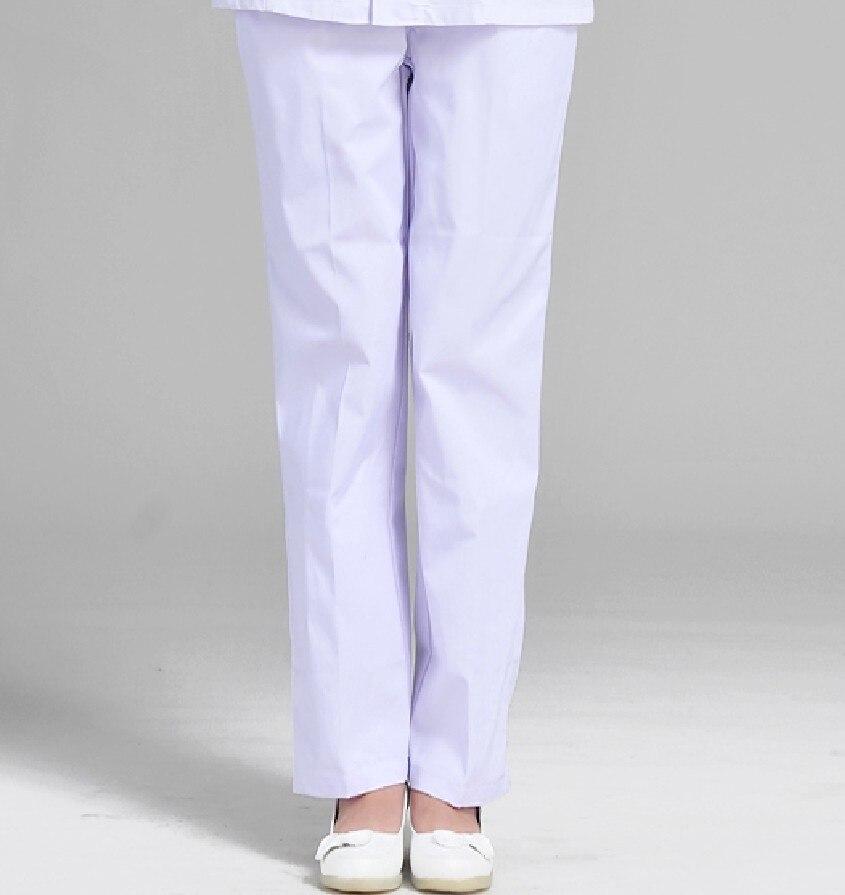 Uniformes Medicos De Algodon Para Mujer Pantalones De Trabajo Blancos Para Enfermeria Hospital 100 No Uso Y Pilling Nurse Pants Medical Pantshospital Nursing Aliexpress