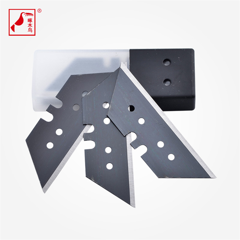 free shipping 1 pc utility knife combine 10 pcs blade paper cutter diy craft knife thick materials cutting toolin knives from home