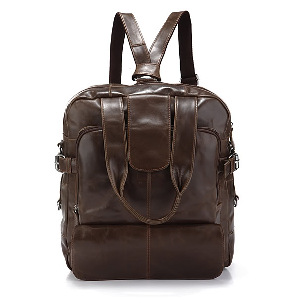 J.M.D 100% Guarantee Genuine Leather Unique Design Packback Fashional Double Shoulder Bag For Adult 7065Q fashional irregular goemetry joint scrawl design pillow case