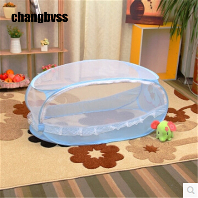 Cuna portatil infant baby crib cot mosquito nets beds fly insect folding netting mesh child portable safety good quality