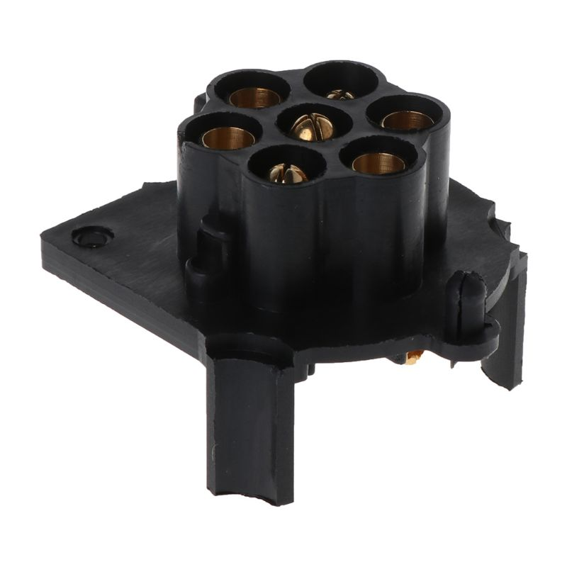 Durable 12V 7 Pin Plastic European Trailer Socket Tow Bar Electrics Connector with Rubber Ring in Trailer Couplings Accessories from Automobiles Motorcycles