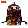 2016 пять ночей freddys дети ранцы мальчики девочки рюкзак для подростка сумки несовершеннолетних студент школьный бесплатная доставка