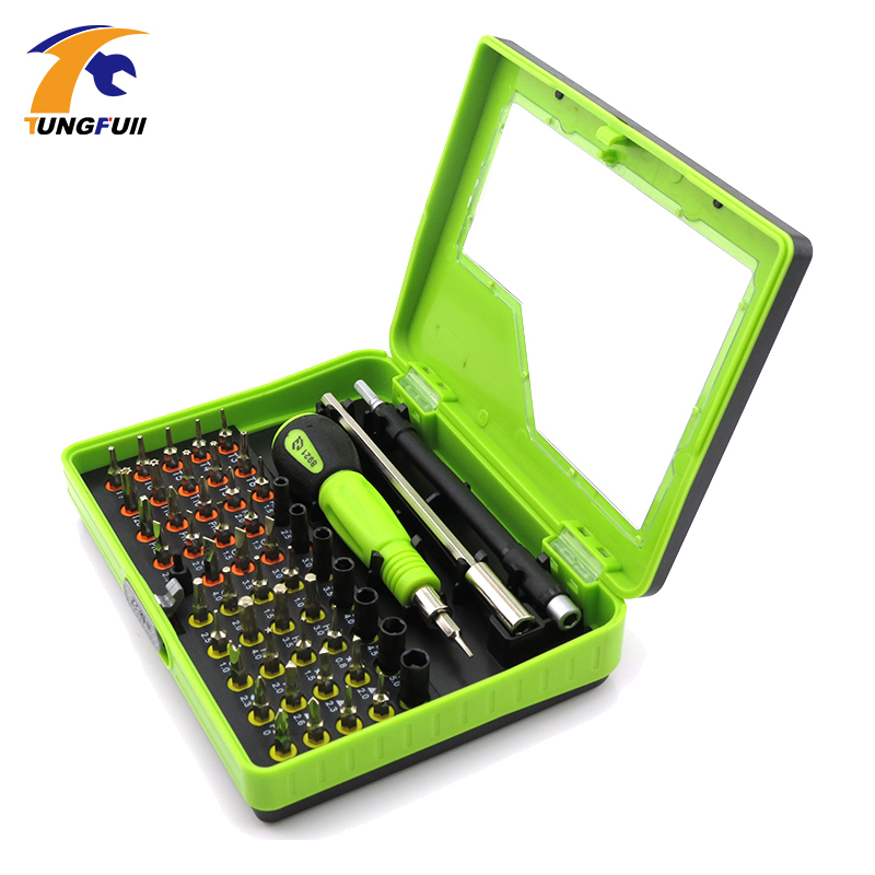 Tungfull  Screwdriver set of screwdrivers screwdriver for phone  Mobile Phone Repair Tools Multi-Bit Precision Torx Screwdrive high quality 53in1 multi bit repair tools torx screwdrivers kit set for electronics pc laptop ver54