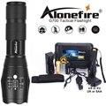 Poderoso G700 linterna Cree XML T6 U3 led de aluminio impermeable Zoom Camping antorcha luz táctica AAA batería recargable 18650