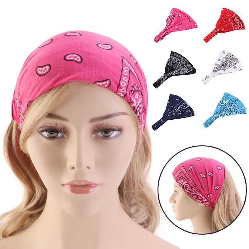 Femmes mode foulard coton Yoga bandeau rayé à la main noué bandes de cheveux filles Turban femme cheveux accessoires