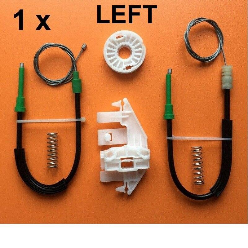 For Peugeot 406 1995-2004 Window Regulator Repair Kit Front Left / Right Side