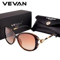 VEVAN Luxury Polarized Sunglasses Women Brand Designer Sun Glasses 2018 lunette de soleil femme Pearl oculos de sol feminino