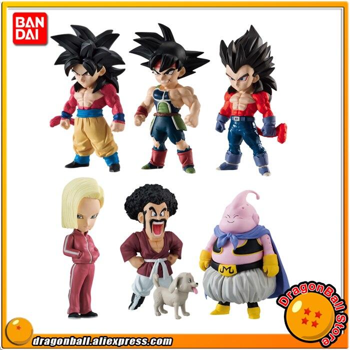 Dragon Ball SUPER Original BANDAI ADVERGE 07 Collection Figure Full Set 6 Pcs Goku Vegeta