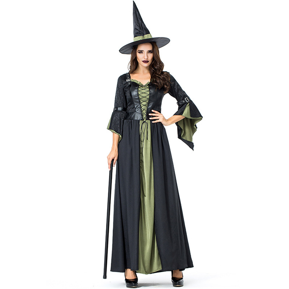Cosplay Halloween carnival purim costume witch costume party witch vampire costume holiday dress for women female dress