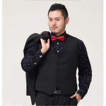 Mens Suit Vest Clothing Business Casual Wedding Waistcoats Men s Dress Vests Formal Vest Black fashion