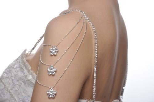 Fashion Rhinestone Shoulder Straps 1pair