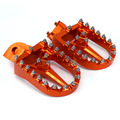 Free shipping orange motorcycle bike Offroad motard Billet CNC Foot Pegs pedals Foot rests For KTM 65-990 all models except 690