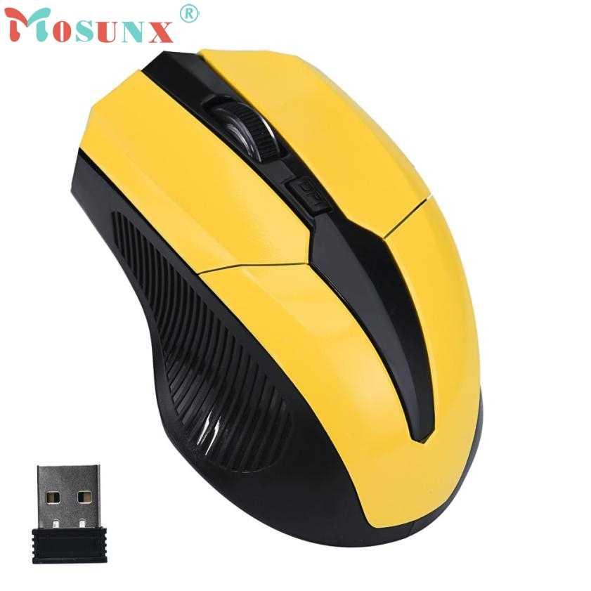 استقبال لاسلكي ماوس USB 2019 جديد 2.4GHz الفئران البصرية جهاز كمبيوتر شخصي لاسلكي لأجهزة الكمبيوتر المحمول رائجة البيع عالية الجودة هدية 18Sep21