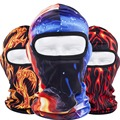 3D Colorful Outdoor Sports Bicycle Cycling Motorcycle Hood Hats Fishing Tactical Ski Balaclava Flame Stripe Full Face Mask Cap