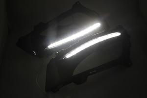 Image 4 - Car Flashing 1Pair DRL For KIA Optima K5 2011 2012 2013 2014 Daytime Running Lights Fog head Lamp cover car styling