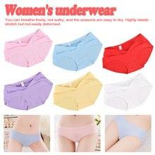 Women Panties Lady Cotton Underwear Girls Breathable Seamless High Waist Briefs Cute Sexy Lingerie Intimates