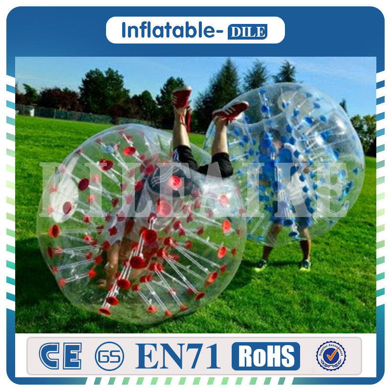 High Quality 0 8mm PVC 1 5m Inflatable Bubble Soccer Ball Bumper Ball Bubble font b