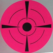 2019 New Trend Fluorescent pink Shooting Target Stickers (Qty 250 PCs 3) Self Adhesive Label Targets for Practice