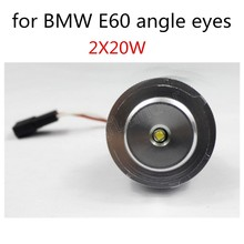 Canbus 10WX2 LED angel eyes for BMW E60 marker 2 pieces hot sale new arrival