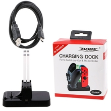 2019 hot sale LED Charging Dock Station Holder For Nintendo Switch NS Joy-con Pro Controller цена и фото