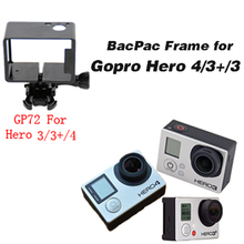 Gopro Equipment Expanded Version Body (Digicam+LCD/Battery BacPac) with Assorted Mounting  for Gopro Hero four three+ GP72