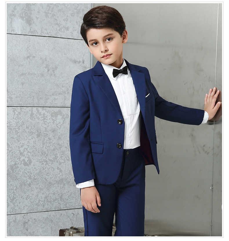 2dd9852caf50 ... 2017 new arrival fashion baby boys kids blazers boy suit for weddings  prom formal 5 packs ...