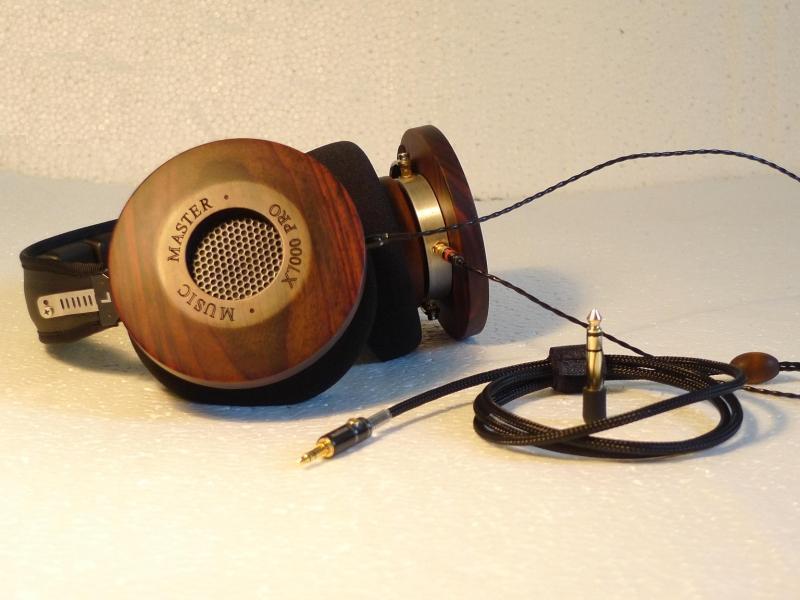 DIY 53MM driver Red sandalwood Fever headphones 300ohms/600ohms 550g
