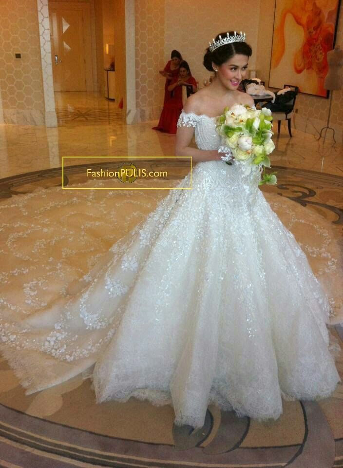 Luxury Wedding Dresses Long Tail A Line V Neck Floor Length See Through Back Bridal Gowns In From Weddings Events On Aliexpress