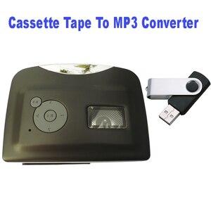 Image 4 - Мини Портативный USB кассеты магнитная лента для mp3 USB Flash Driver конвертер плеер для захвата рекордер, оптовая продажа, Бесплатная доставка