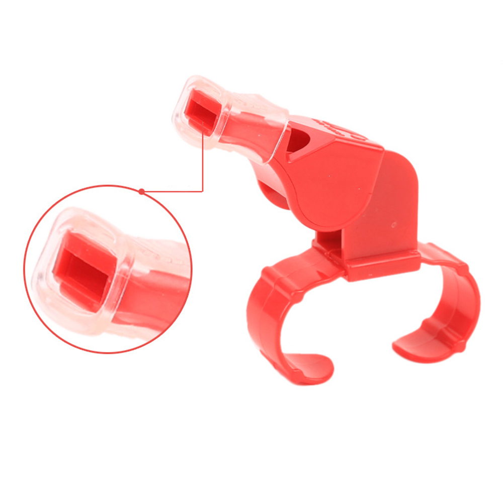 Sports Accessory Whistles Cushioned Mouth Grip Plastic Referee Whistle Cover