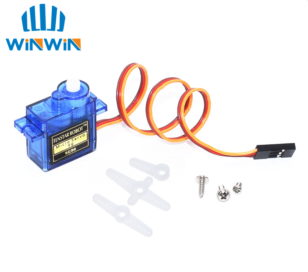 50PCS Pro 9g micro servo for airplane aeroplane 6CH rc helcopter kds esky align helicopter SG90